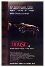 HOUSE Movie POSTER 27x40 William Katt George Wendt Richard Moll Kay Lenz Michael