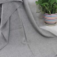 Vintage Women Man Solid Long Cashmere Wool Blend Soft Warm Wrap Shawl Scarf 129