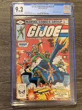 G.I. Joe, A Real American Hero #1 Marvel Comics 1982 - CGC 9.2 (Near Mint-)