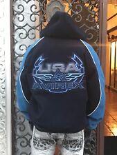 Men's Avirex Navy/Blue Reversible Wool & Nylon Jacket