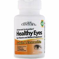 Lutein & Zeaxanthin - Gesunde Augen, 360 Kapseln / 6 x 60 - 1 Jahres Vorrat