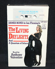James Bond Books on Cassette - Ian Fleming's Living Daylights (Sealed) 1987