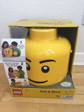 Lego Sort & Store Yellow Large Case Storage Head