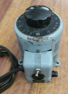 Superior Electric Type 116 Powerstat Variable Transformer 0-140V w/Tag