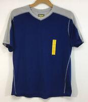 Cabela's Granite Activewear T-Shirt Mens Size XL Blue Gray V-Neck MSRP $22.99