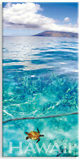 Panoramic Hawaiian Refrigerator Magnet - Emerald Sea by Michael & Monica Sweet