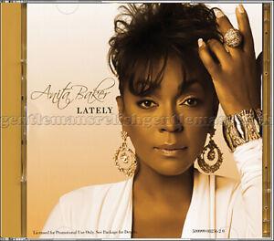 "Anita Baker ~ ""Lately"" ~ 𝗠𝗜𝗡𝗧 2012 Promo Only CD Single"