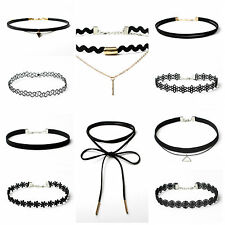 NEW ARRIVAL 10 PIECES VARIOUS STYLE CHOKER NECKLACE - HOT SELL