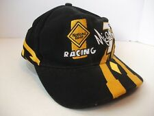 Nations Rent Racing #7 Michael Waltrip Nascar Hat Black Hook Loop Baseball Cap