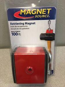 "Master Magnetics 07503 2.375"" Ceramic Retrieving Magnet 100 lb. pull 3.4 MGOe"