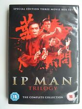 Ip Man + Ip Man 2 + Ip Man 3 - Trilogy (DVD, 2016, 3-Disc set) Donnie Yen