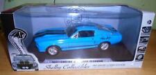 SHELBY COLLECTIBLES ELEANOR 1967 SHELBY GT 500E IN BLUE & BLACK  SIGNED  1/18