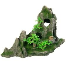 Trixie Rock Formation, Caves, Plants Aquarium Ornament Fish Tank Decoration 27cm