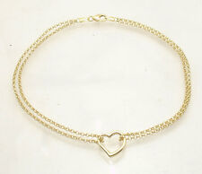 beach layer double gold chain plated jewelry hollow anklets product fashion foot water anklet ankle bracelet