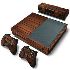 For Xbox One Wood Slats Skin Decal Wrap Sticker Console + Controller Set Wooden