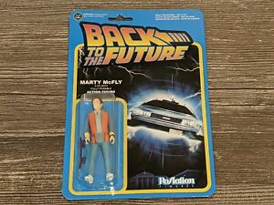 """*NEW/SEALED* MARTY MCFLY Back To The Future Funko Reaction 3.5"""" Action Figure"""