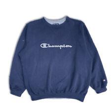 Vintage Champion Spellout Sweatshirt Jumper - Size XL