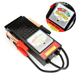 6V-12V 100Amp Car Van Auto Battery Tester Load Drop And Charging System Checker