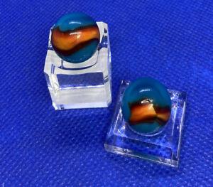2 Peltier Glass Patches Vibrant colors