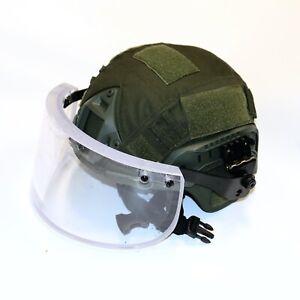 Level IIIA Ballistic Shield Face Mask Clear Visor - Hudi's Tactical