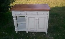 AMISH MADE RECLAIMED BARN WOOD  UNFINISHED kitchen island hand built
