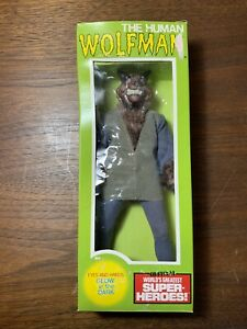 MEGO Mad Monster The Human Wolfman Original in Box WGSH Doll SCARCE