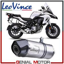 Exhaust Leovince Lv One Evo Stainless Steel Benelli Trk 502 2017 > 2019