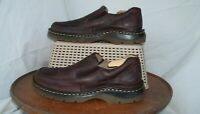 MEN'S DR MARTENS ORSON 11198 SIZE US 7M 7 M BROWN SLIP-ON LOAFERS SHOES