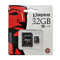 Kingston SDC10G2/32GB Scheda MicroSD da 32 GB, Classe 10, UHS-I, 45 MB/s