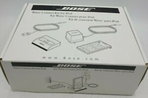 NEW Bose Wave Music System Connect Kit iPod Docking Station 120V North America