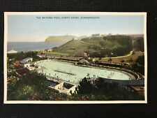 Postcard Unposted Scarborough The Bathing Pool, North Shore - RF2 PCBOX1