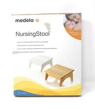 Medela Proper Positioning Breast Feeding Nursing Stool - White - Open Box