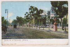Mexico postcard - Paseo de la Reforma, Mexico