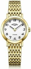 Rotary Ladies Windsor Gold Plated Watch - LB05303/18 classic RRP £169.00