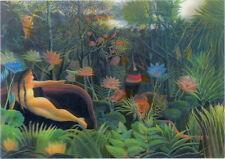3D Lenticular Postcards - The Dream, Henri Rousseau