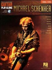 Michael Schenker Guitar Play-Along TAB Music Book/Audio SAME DAY DISPATCH
