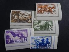 Reich 1944 Imper. Nazi Germany Postage Flemish Legion  WAFFEN SS FELDPOST XXRARE