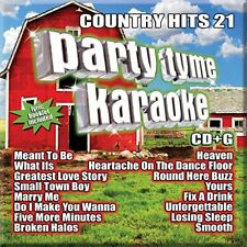 PARTY TYME KARAOKE CD - COUNTRY HITS 21 (2018) - NEW UNOPENED
