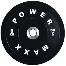 POWER MAXX 5kg Premium Bumper Plate // Weightlifting // Powerlifting // Crossfit