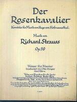 Richard Strauss - Der Rosenkavalier Walzer Op. 59 ~ übergroße Noten, ALT
