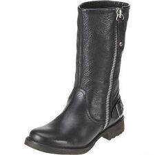 Ladies Black Leather Harley Davidson ' Baisley ' Boots - Great Price!