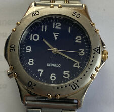 Timex Mens Watch Indiglo Stainless Steel