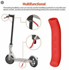 1pc Xiaomi M365 Pro Electric Scooter Rubber Cover Brake Handle Silicone - Red