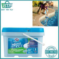Clorox Pool&Spa XtraBlue 3-Inch Long Lasting Chlorinating Tablets, 5-Pound