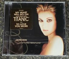 Céline Dion - Let's Talk About Love Cd from 1997 Buy 1 Get 33% Off Any Other Cds