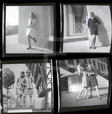 235W FASHION 1960s Harry Langdon 4 Negative LOT w/rights