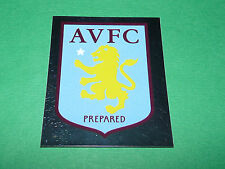 N°46 BADGE ASTON VILLA MERLIN PREMIER LEAGUE FOOTBALL 2007-2008 PANINI