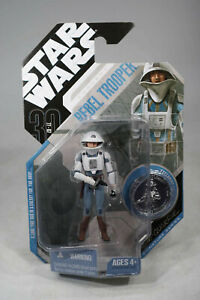 Hasbro Star Wars 30th Anniversary Collection Concept  Rebel Trooper - MOSC