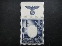 Germany Nazi 1943 Stamp MINT Embossed Swastika Eagle Generalgouvernement WWII Th