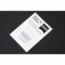 Zeiss Planar T* f/2-35mm for Contax G Mount Datenblatt / Broschüre / Anleitung